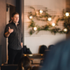 Peter Melby speaking at DisruptHR Denver on Aug 23rd